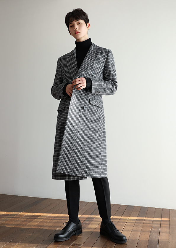 Hound Tous Check double Coat